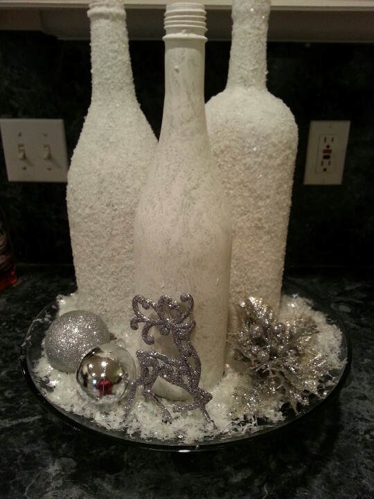 Top 25 ideas about epsom salt crafts on pinterest house for What kind of paint to use for wine bottles