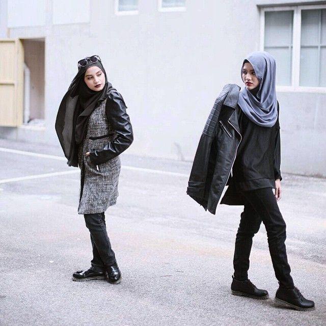 109 best Tomboy Hijab u0026 Outfits images on Pinterest | Modest fashion Muslim fashion and Hijab ...