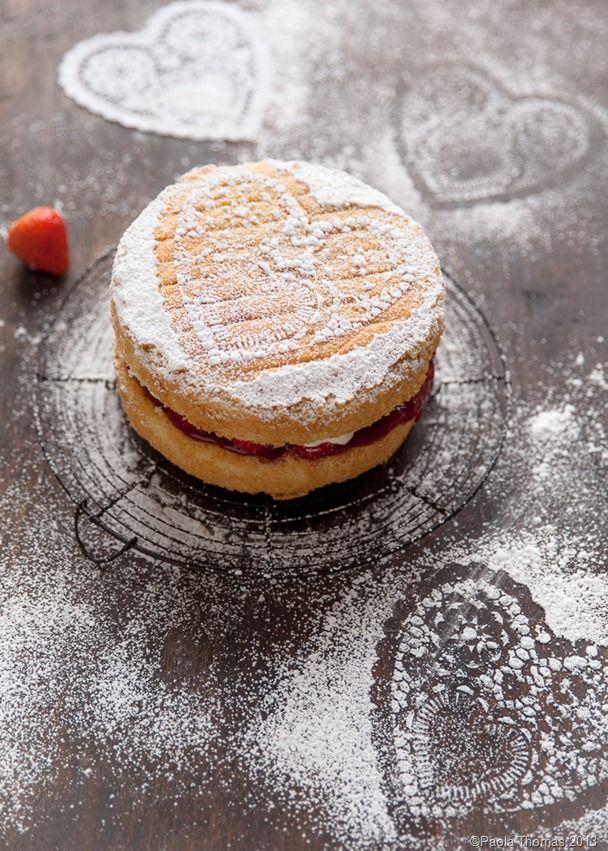 Valentines Victoria Sponge + recipe