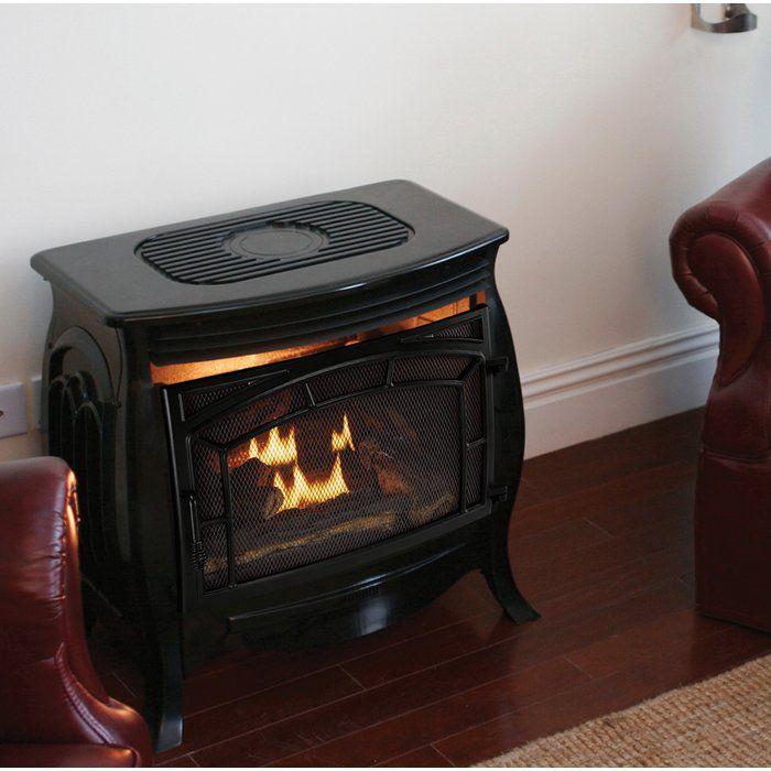 1 200 Sq Ft Vent Free Gas Stove Pellet Stove Pellet Stove Hearth Stove Fireplace