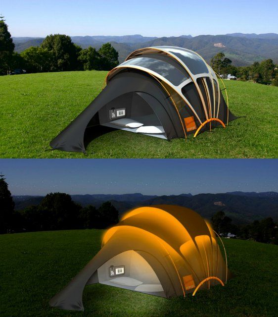See More. Fancy - Glastonbury Orange Solar Tent & Best 25+ Glastonbury camping ideas on Pinterest   Festival packing ...