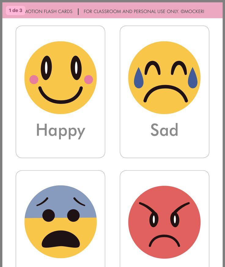 Картинка с эмоциями на английском