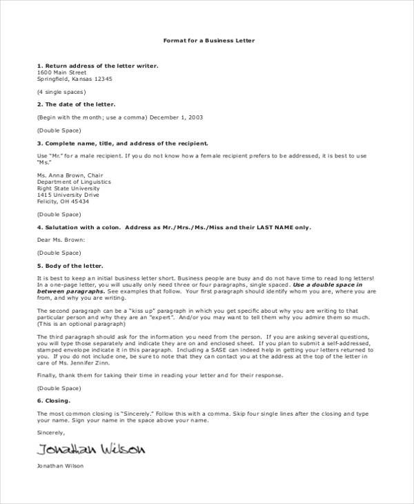 Three Types Of Business Letter from i.pinimg.com