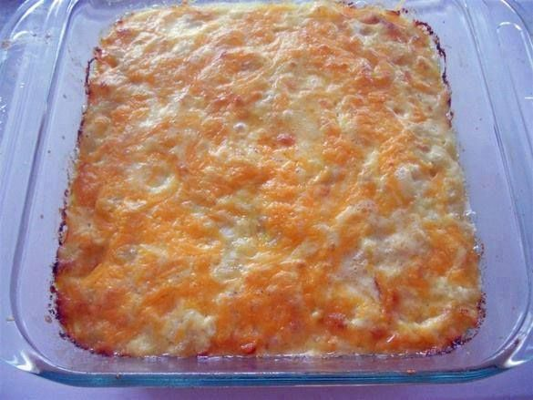Ingredients :    1 pound elbow macaroni  1 cup whole milk  2 12-ounce cans evaporated milk  3 eggs  1 cup butter, cut into small pieces  ½ pound Colby cheese, grated  ½ pound Monterey Jack cheese, grated  ½ pound sharp Cheddar cheese, grated  1 pound Velveeta
