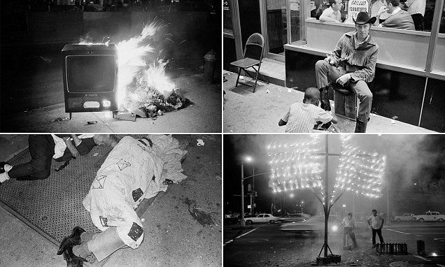 Pictured: Mean streets of New York in the 1970s and 80s | Daily Mail Online