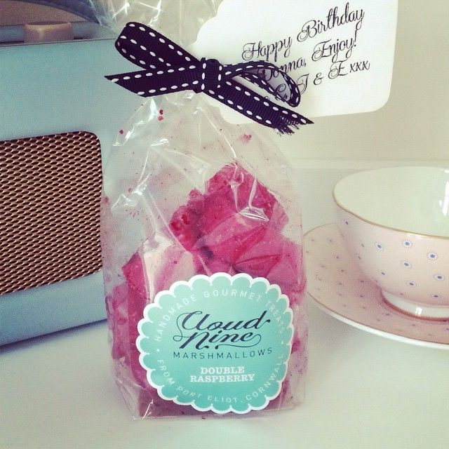 """""""Proud to receive the first gift subscription of yummy cloud nine marshmallows @cloudninemallow  #amazingmarshmallows"""""""