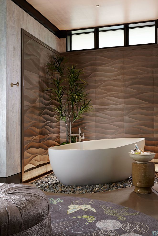 78 ideas about asian bathroom on pinterest wooden bathtub asian inspired decor and japanese - Asian themed bathroom decor ...