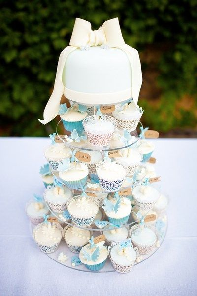 Wedding Cupcakes A French In Provence By Un Grand Oui Ungrandoui