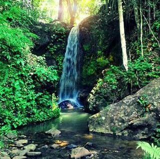 Mandin Tangkaramin Waterfall