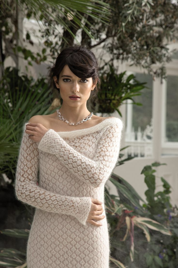 30 best Wedding Dresses: Knitting & Crochet Patterns images on ...
