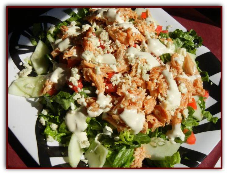 Buffalo Chicken Salad | On the Menu: Salads | Pinterest