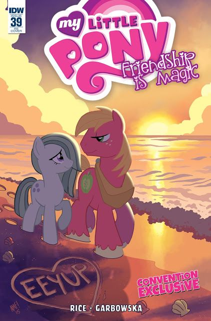 New York Pony Con Marble Pie and Big Mac Cover