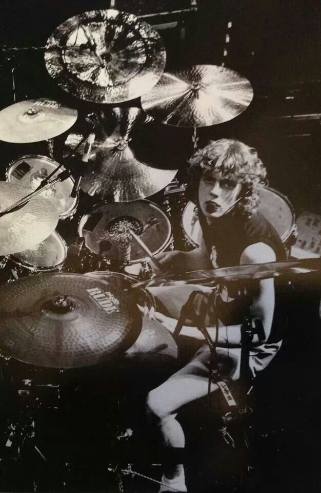 "Rick Allen ( The One arm drummer)(born 1 November 1963) is an English drummer who has played for the hard rock band Def Leppard since 1978. He overcame the amputation of his left arm in 1985 and continued to play with the band, which subsequently went on to its most commercially successful phase. He is known as ""The Thunder God"" by fans"