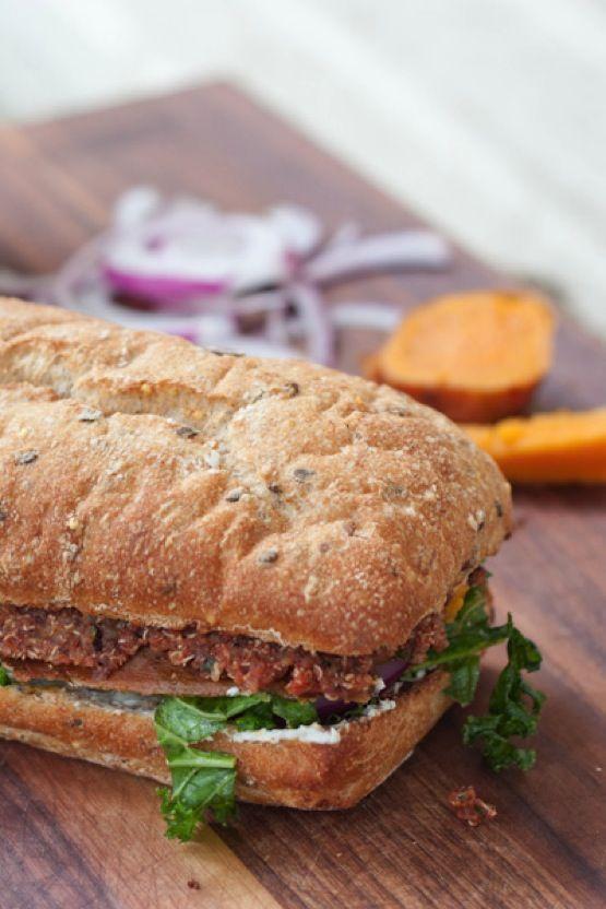 ... Baked Sweet Potatoes, Veggies Sandwiches, Superfood Sandwiches, Baking