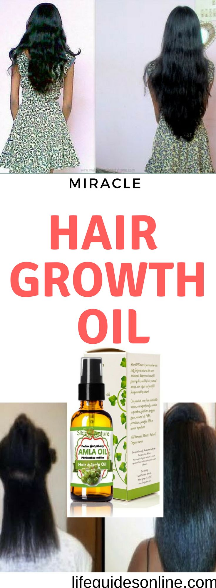 Extreme hair growth.Howi grow my hair super long, less than a month. miracle hair growth oil. you have to try. amazing hair , long hair