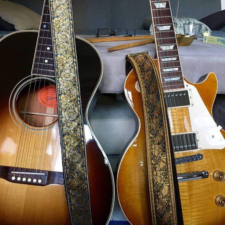 pailinstrapsP5900S8 Grand jasmine vine P5600Y2 Pea vine #pailinstraps #guitar #guitarstrap #electricguitar #acousticguitar #gibson #lespaul #kebmo <3 <3 <3