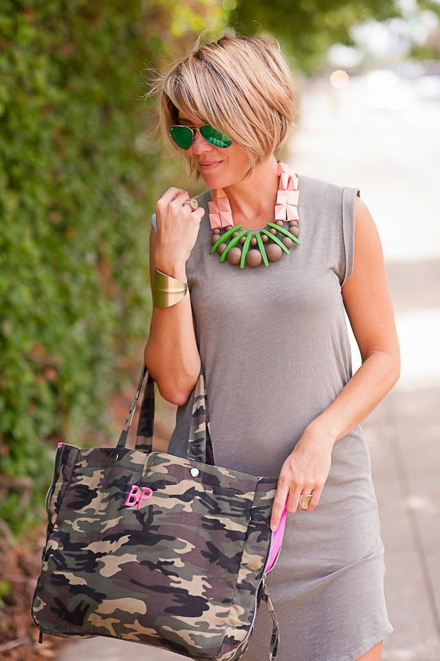 dress (Sundry, Omar + Elsie, other muscle dresses HERE and HERE), necklace (AJs Casuals), sneaks (Converse, sans studs HERE), personalized camo (c/o my best gal, Jenny, see other CAMO HERE), cuff (Similar), shades (Ray Ban Green Lenses), rings (Lagos, Anna Beck) May I introduce to you the comfiest, coziest cotton tshirts & dresses I've owned to date? SUNDRY is churning out some of …