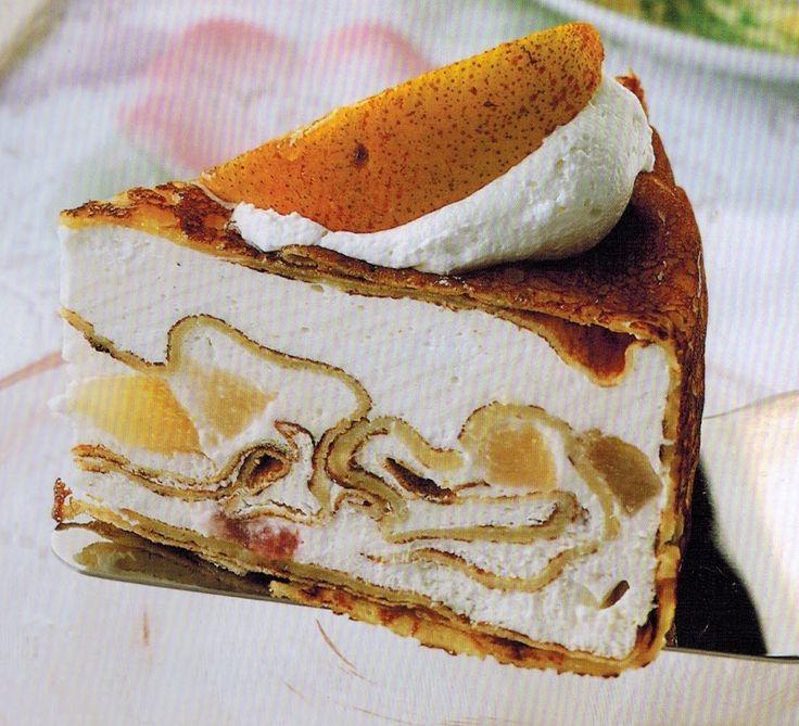 Блинный торт. Оригинальный необычный рецепт