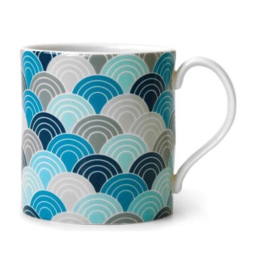 Jonathan Adler Carnaby Mug Scale Blue