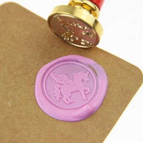 Unicorn Wax Seal Stamp Tool Box Set