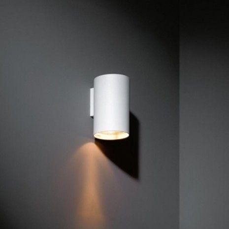 Modular Nude wall 1x PAR30 Wandlamp wit