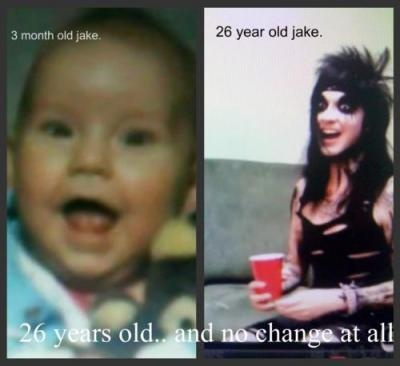 Jake was such a cute baby! <3