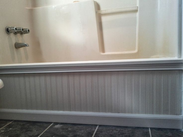 Ahoy! Are you ready for the most dramatic, dynamic, and aquatic part of the sorta-master-bathroom makeover?! A hull in a nautical sett...