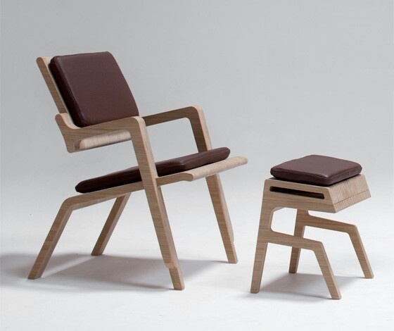 Leather U0026 Wood Collection By Kenny Vanden Berghe