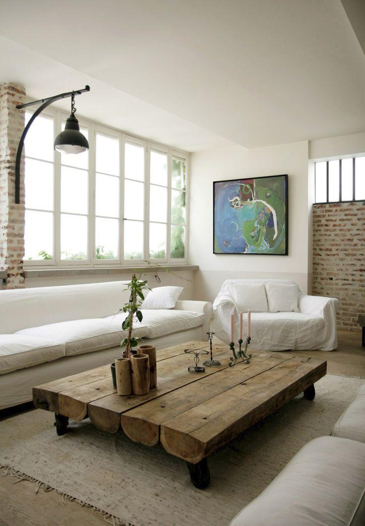 Meer dan 1000 ideeën over Houten Salontafels op Pinterest - Rustieke ...