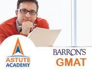 Astute Barron`s GMAT Classes with Expert International Faculty. GMAT Test Series