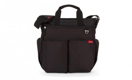 Black Duo Signature Diaper Bag By Skip Hop