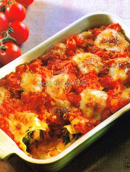 Cannelloni zöldségekkel