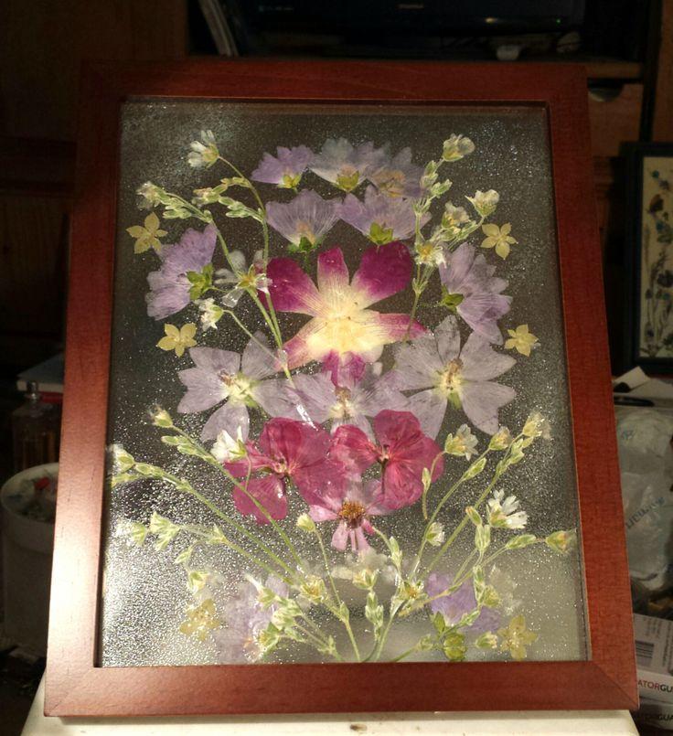 87 best Framed Flower Art images on Pinterest | Art floral, Aspen ...