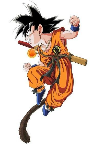  ★  kid Goku  亀 