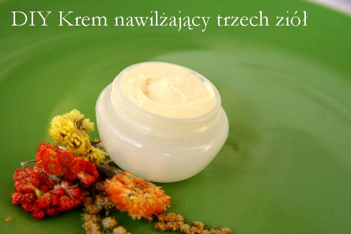 Nowości i recenzje kosmetyczne: DIY Zrób krem nawilżający do cery suchej i naczynk...