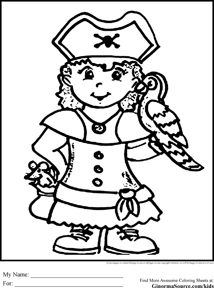 dulemba pirate coloring pages - photo#15