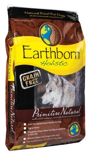 Earthborn Holistic Primitive Natural Grain-Free Dry Dog Food, 28-Pound Wells Pet Food http://www.amazon.com/dp/B0028GY93S/ref=cm_sw_r_pi_dp_BCqdvb1WY160B