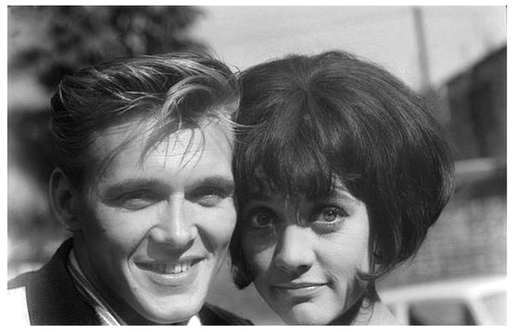 Billy Fury with girlfriend Amanda Barrie (Coronation Street & Carry On Cleo)
