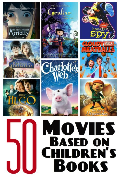 50 Movies Based On Childrens Books from Youth Literature Reviews.