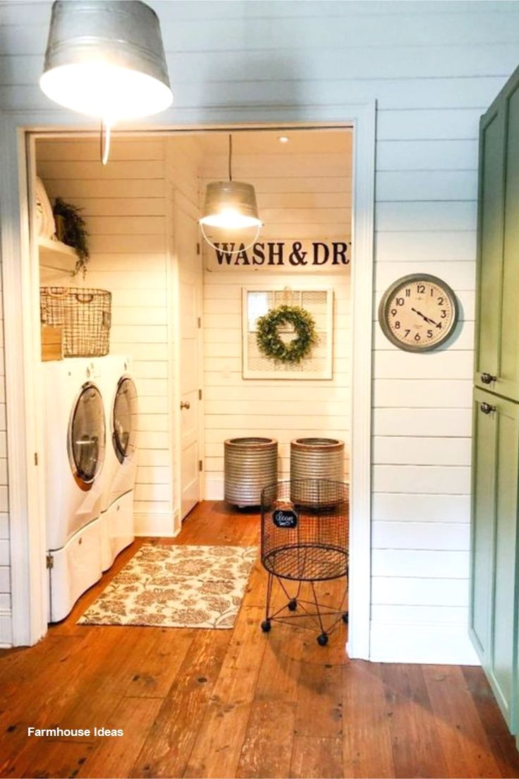 Farmhouse Decor On A Budget In 2020 Basement Decor Diy Finish