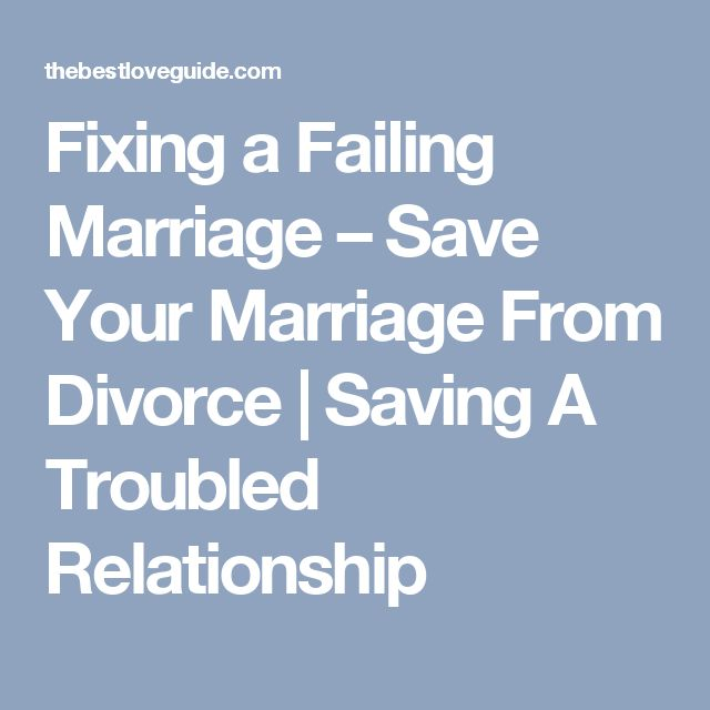 about saving a relationship