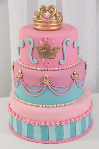 bolo de aniversário infantil princesa