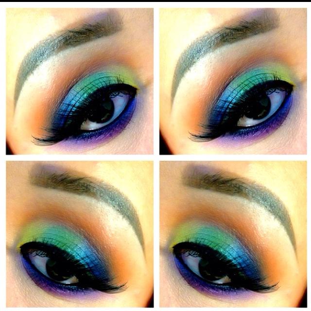 Peacock shadows: Peacock Art, Makeup Nails, Makeup Hair Nails, Peacock Shadows Thi, Makeup Galor, Hair Makeup Clothing, Shadows Beautyphanat, Hair Nails Makeup, Peacock Eye