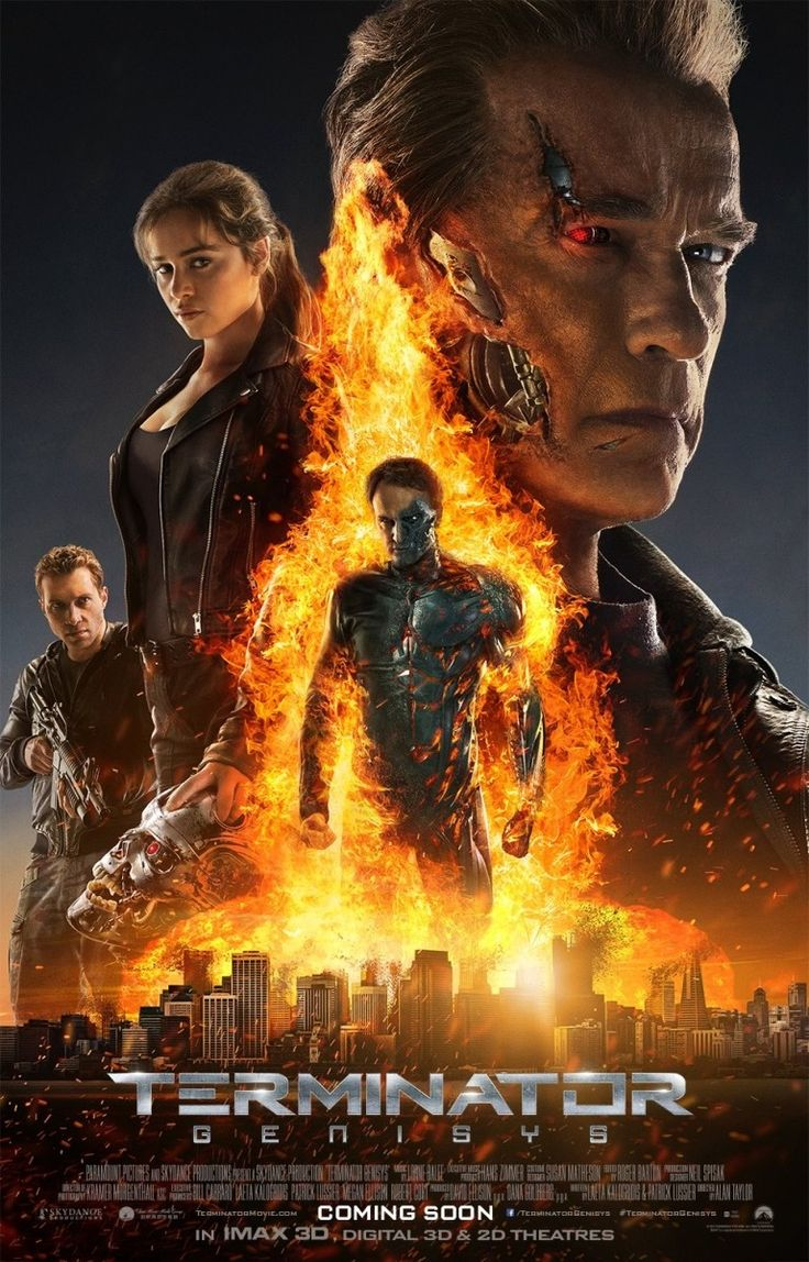 "Terminator Genisys (2015). The fifth one. A lot of die-hard fans don't like this one too, but I thought it was closer to 1 and 2. And it's okay that Sarah and Kyle didn't have that much chemistry as this is a different Sarah Connor from the previous 1984 timeline. She's not the damsel in distress/waitress. The only loophole is who sent the ""Guardian"" which I think will be addressed in part 6."