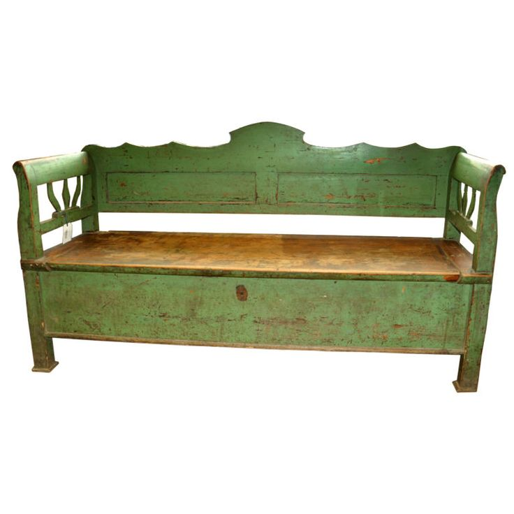 Antique Headboard Bench: 25+ Best Ideas About Antique Bench On Pinterest