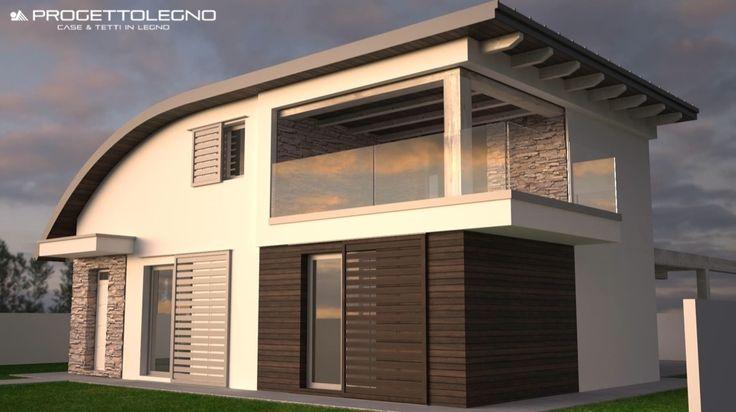 Le case in legno con il sistema costruttivo steko formato for Case legno antisismiche prezzi