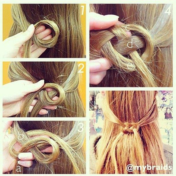 diy Celtic Heart #hairknot