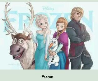 Disbey frozen elsa anna and olaf