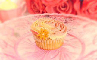 Two tone rose swirl vanilla cupcake www.designerscupcakes.com