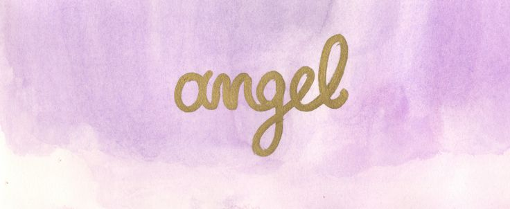 angel hand lettering Aλέξια